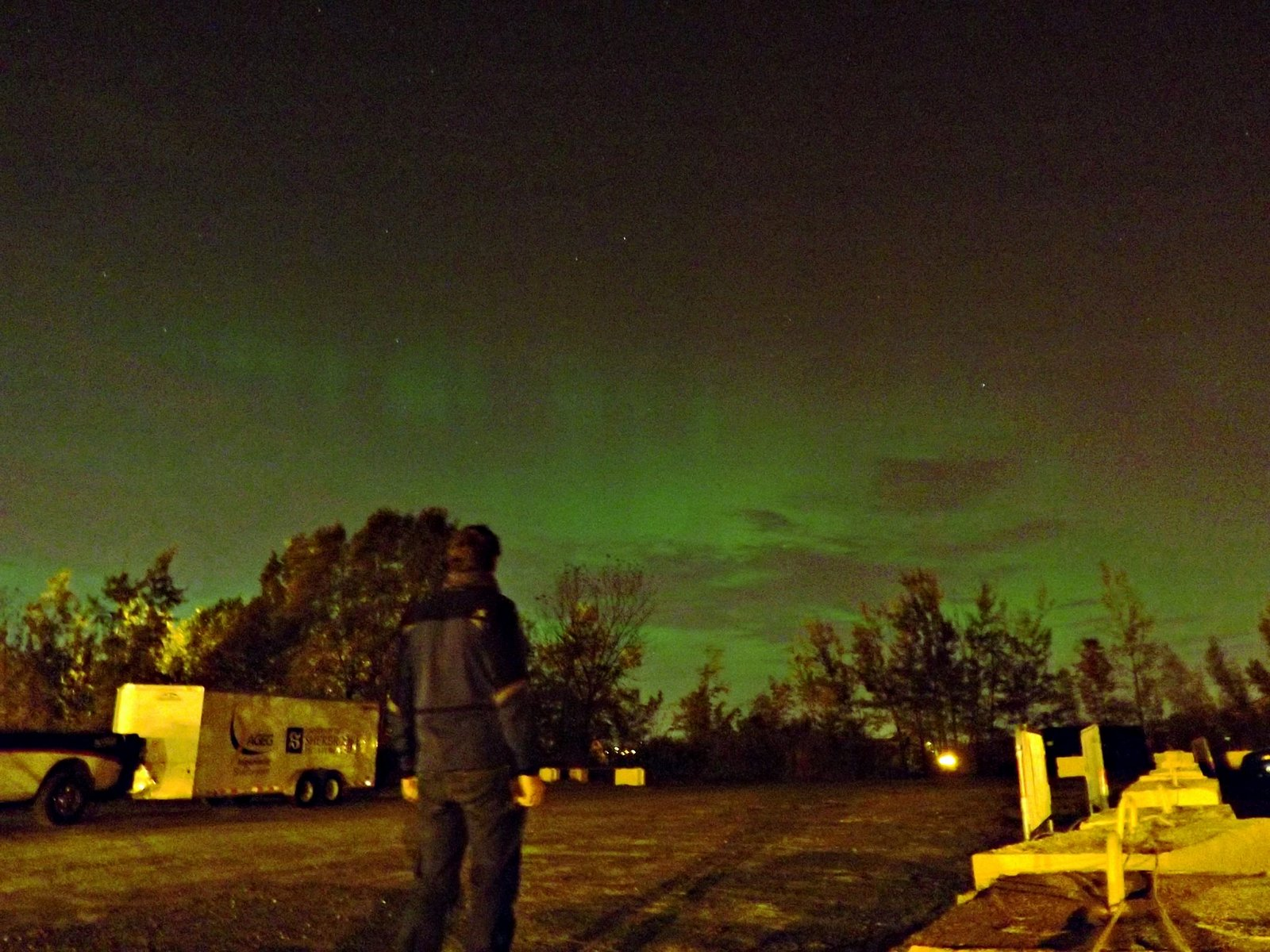 Aurora Borealis by Simon Escalle	00h15, October 2, Sherbrooke