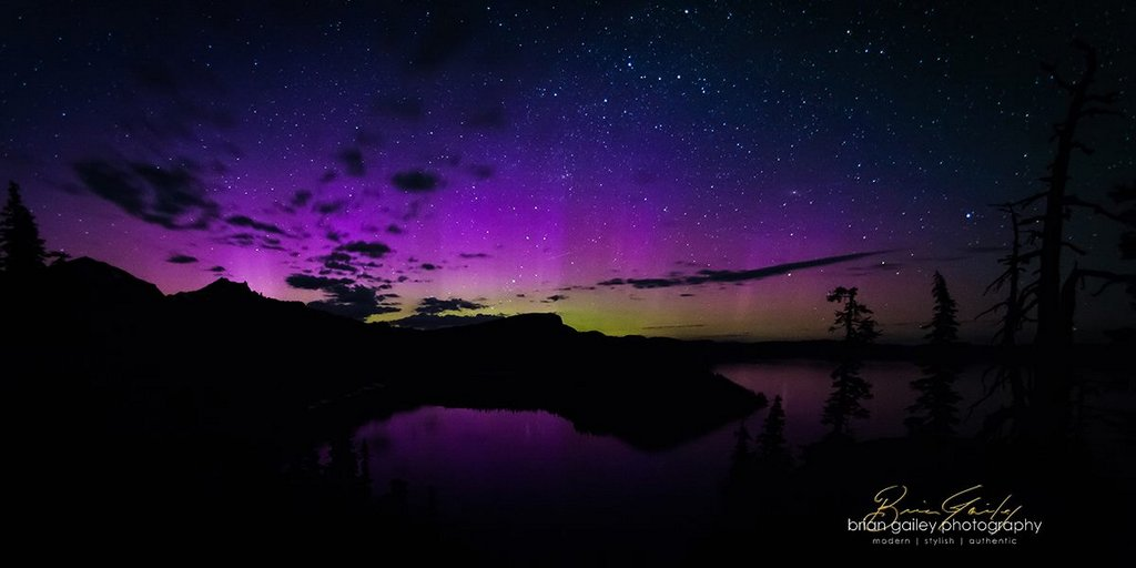 Aurora Borealis. By Brian Gailey