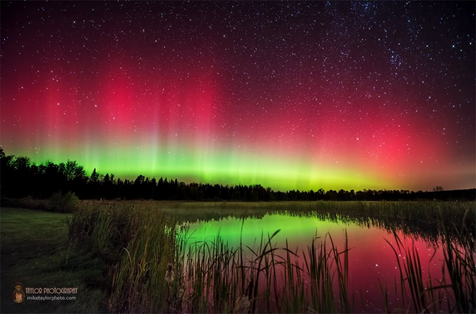 Aurora Borealis. From Maine by Mike Taylor