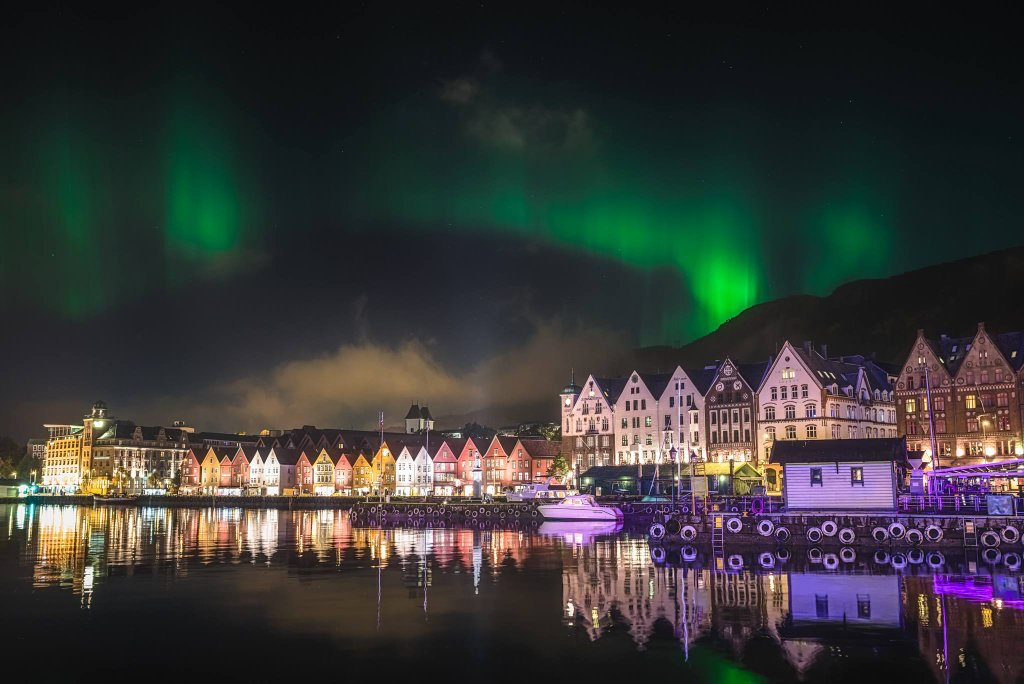 Aurora Borealis. In Bergen, Norway by Gunnar Kr Kopperud Photography