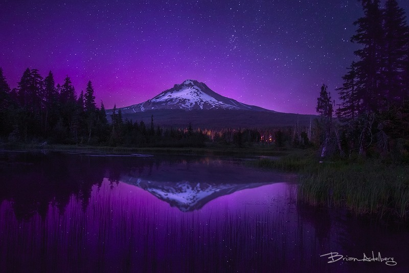 Aurora Borealis. From Oregon by Brian Adelberg