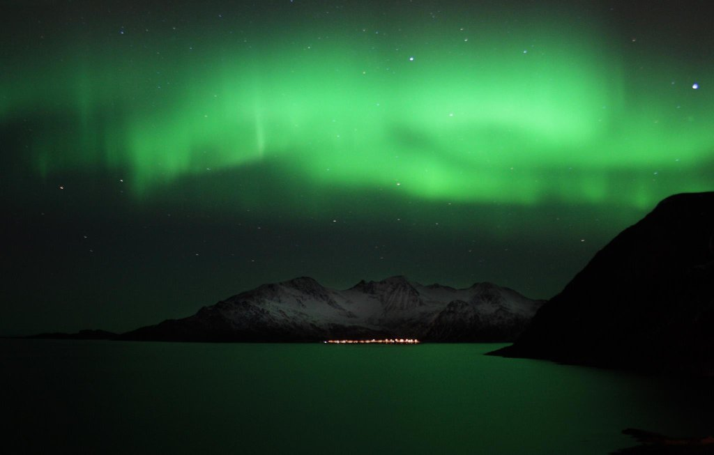 Aurora Borealis. From Tromso, Norway by Andrei Andritcu