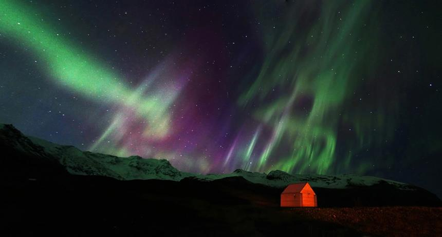 Aurora Borealis. From Iceland by Yiannis Pavlis