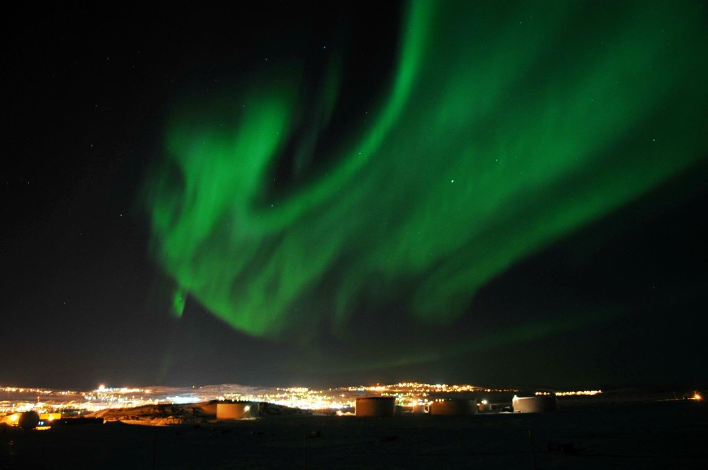 Aurora Borealis. From Iqaluit, Canada by Rich-art Photos