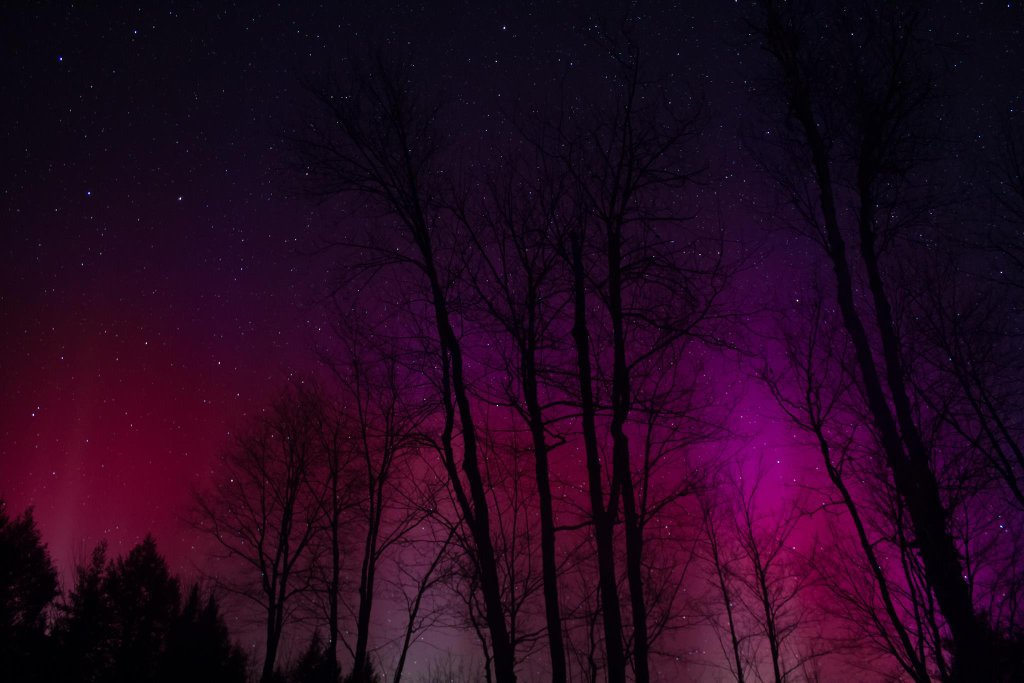 Aurora Borealis. From Harrison, ME by Scenes of Maine Photography